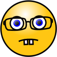 smiley,face,emoticon,emote,glasses,teeth,media,clip art,public domain,image,png,svg