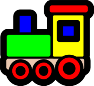 toy,wooden,train,locomotive,choochoo,icon,contour,media,clip art,public domain,image,png,svg