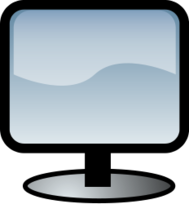 media,clip art,public domain,image,png,svg,computer,hardware,screen,flat,lcd,display,monitor,glossy,icon