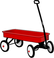 toy,play,wagon,cart,red,media,clip art,public domain,image,png,svg