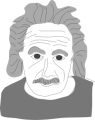 person,famous,science,einstein,famous-people,media,clip art,public domain,image,png,svg