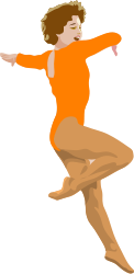 people,woman,dancing,ballet,gymnastics,dancer,ballerina,media,clip art,public domain,image,png,svg