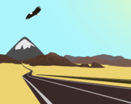 colour,bird,nature,desert,road,rock,media,clip art,rock