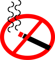sign,symbol,no smoking,cigarette,forbidden,media,clip art,public domain,image,svg