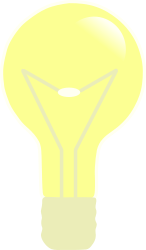 thing,light bulb,off,screw,media,clip art,public domain,image,png,svg