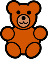 toy,teddy,icon,media,clip art,public domain,image,svg