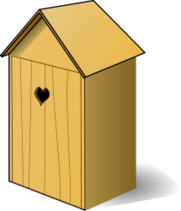 media,clip art,public domain,image,png,svg,wood,shed,toilet,garden,box,longdrop,outdoor,birdbox