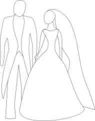 wedding,marriage,line,art,simple,stylised,media,clip art,public domain,image,png,svg