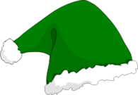 remix,elf hat,hat,elf,green,santa,christmas,xmas,clip art,media,public domain,image,svg