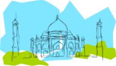 india,taj mahal,shah jahan,mumtaz mahal,media,clip art,how i did it,public domain,image,png,svg