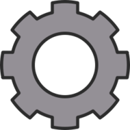 unchecked,graphic,svgz,cog,cogwheel,gear,zahnrad,mechanical,mechanism,mechanisch,mechanik,eisen,iron,metal,cartoon,outline,simple,grey,gray,grau,media,clip art,public domain,image,png,svg