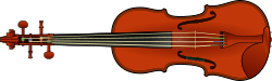 violin,fiddle,viol,string instrument,instrument,music,media,clip art,public domain,image,svg,png