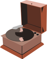 sound,phonograph,record,player,cartoon,media,clip art,public domain,image,png,svg
