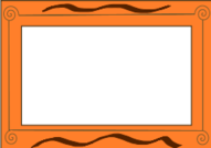 unchecked,border,ornament,orange,brown,board,table,message,paper,writing,decoration,deco,decor,pen,pencil,written,colour,media,clip art,public domain,image,png,svg,ornament,photorealistic,ornament