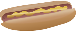 unchecked,food,hotdog,mustard,media,clip art,public domain,image,svg,png
