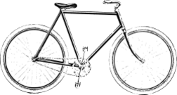 media,clip art,unchecked,public domain,image,png,svg,bicycle,old,no color,bike