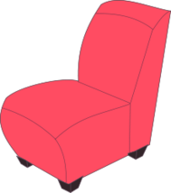 unchecked,chair,soft,red,colour,cartoon,furniture