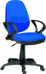 chair,blue,colour,cartoon,furniture,wheel,media,clip art,public domain,image,png,svg