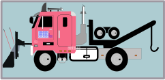 remix,unchecked,vehicle,tow truck,truck,snowplow,plow,clip art,media,how i did it,public domain,image,png,svg