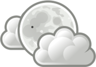 weather,icon,night,moon,cloud,sky,cloud