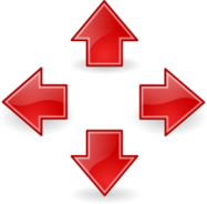 sign,symbol,icon,arrow,red