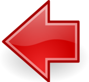 sign,symbol,icon,arrow,red,left