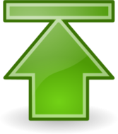 tango,sign,symbol,icon,arrow,up,top,green,limit,externalsource
