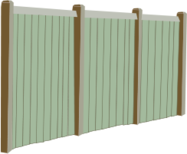 fence,wood,perspective,fencing