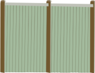 wood,fence,fencing,isometric