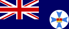 oceania,australia,flag,sign,queensland