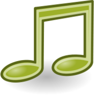 externalousrce,tango,icon,music,note,green
