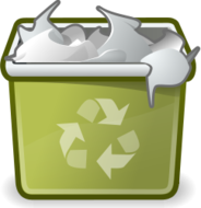 externalsource,tango,icon,trash,full,recycle