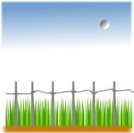 agriculture,landscape,farm,fence,green filed