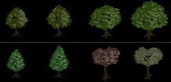 isometric tree,tree