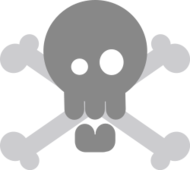 simple,skull,skeleton,pirate,bone,crossed,remain