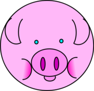 animal,barn,farm,cute,comic,fun,swine,animal