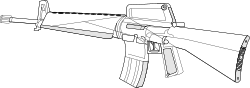 weapon,gun,rifle,m16,m16