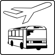 hotel,icon,service,plane,bus,transportation,service