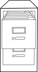 black and white,outline,cabinet,drawer,file manager