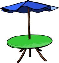 table,umbrella,table umbrella,table with umbrella,umbrella table