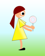 girl,lollypop,child,kid,candy,happy,childhood,yellow,dress,sweet,cute,young,youth