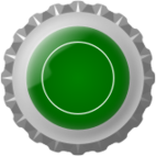 bottle cap,lid,green,drink,bottle