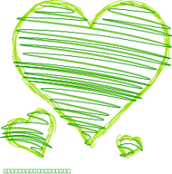 green,heart,love,green,heart