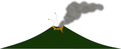 volcano,mountain,eruption,nature,lava,disaster