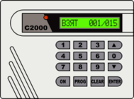 security,fire,alarm,system,bolid,electronics,control,panel,console,russian