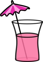 cocktail,summer,summer2010,beverage,drink,umbrella,pink