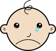 baby,face,head,crying,person,people