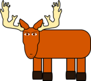moose,animal,deer,big game,meese,cartoon