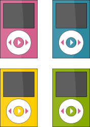 Apple Devices Clipart