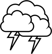 weather,icon,cloud,rain,thunder,storm,outline